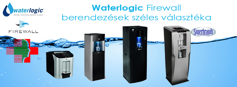 Waterlogic gépek